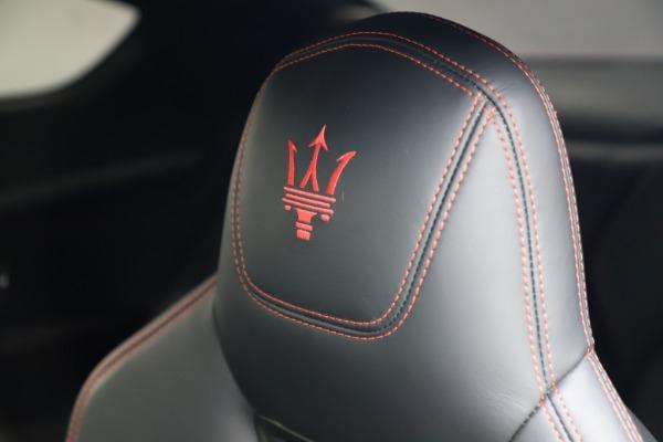 Used 2018 Maserati GranTurismo Sport for sale $99,900 at Bentley Greenwich in Greenwich CT 06830 28