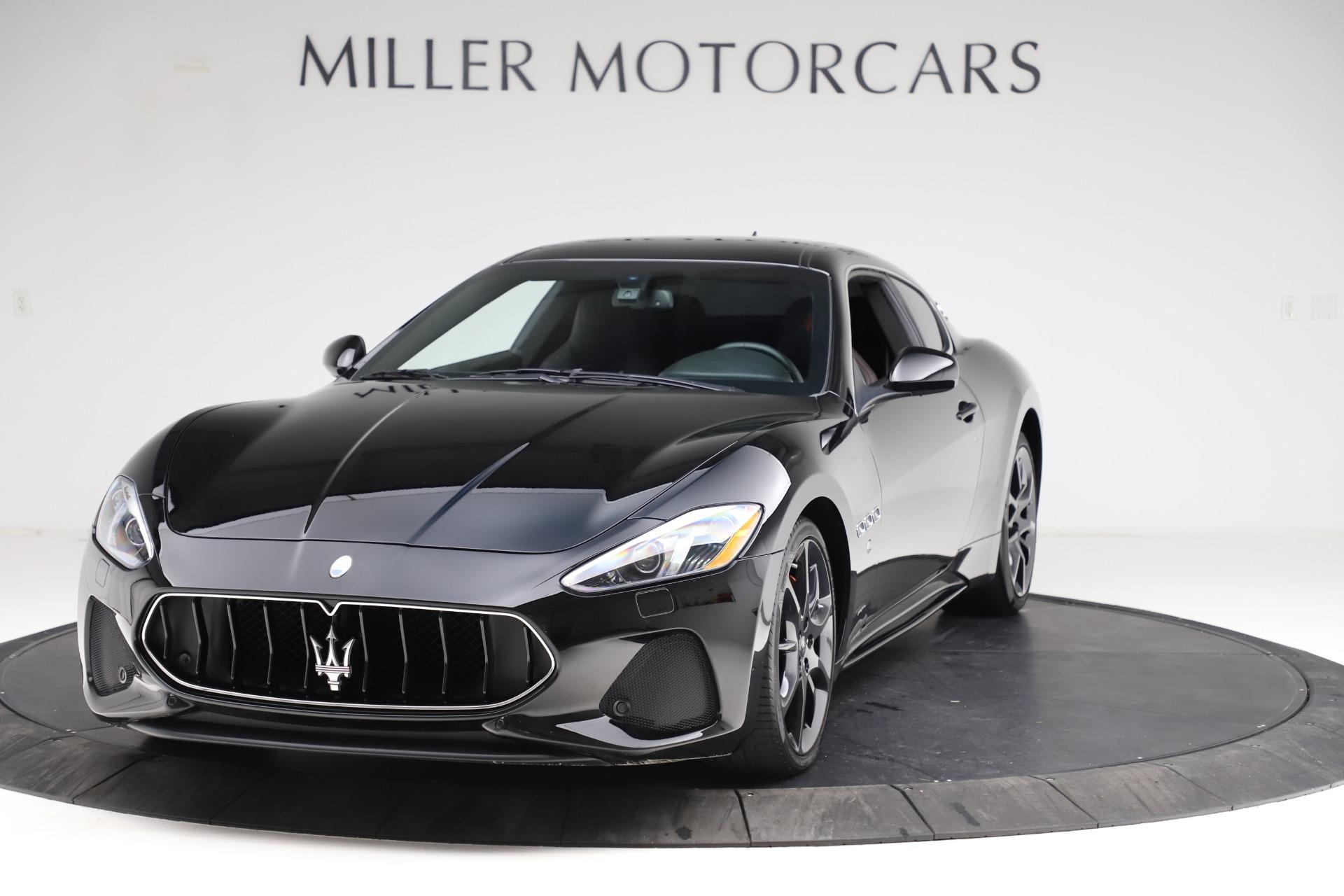 Used 2018 Maserati GranTurismo Sport for sale $99,900 at Bentley Greenwich in Greenwich CT 06830 1