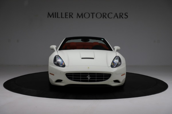 Used 2014 Ferrari California 30 for sale Call for price at Bentley Greenwich in Greenwich CT 06830 12