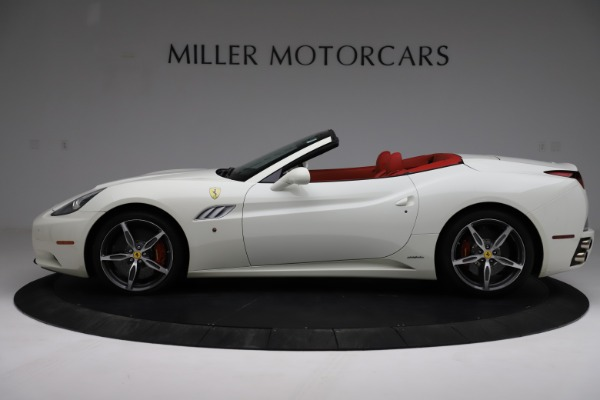 Used 2014 Ferrari California 30 for sale Call for price at Bentley Greenwich in Greenwich CT 06830 3