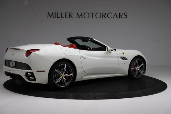 Used 2014 Ferrari California 30 for sale Call for price at Bentley Greenwich in Greenwich CT 06830 8