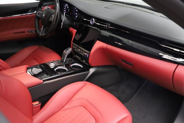 New 2021 Maserati Quattroporte S Q4 GranLusso for sale $122,435 at Bentley Greenwich in Greenwich CT 06830 22