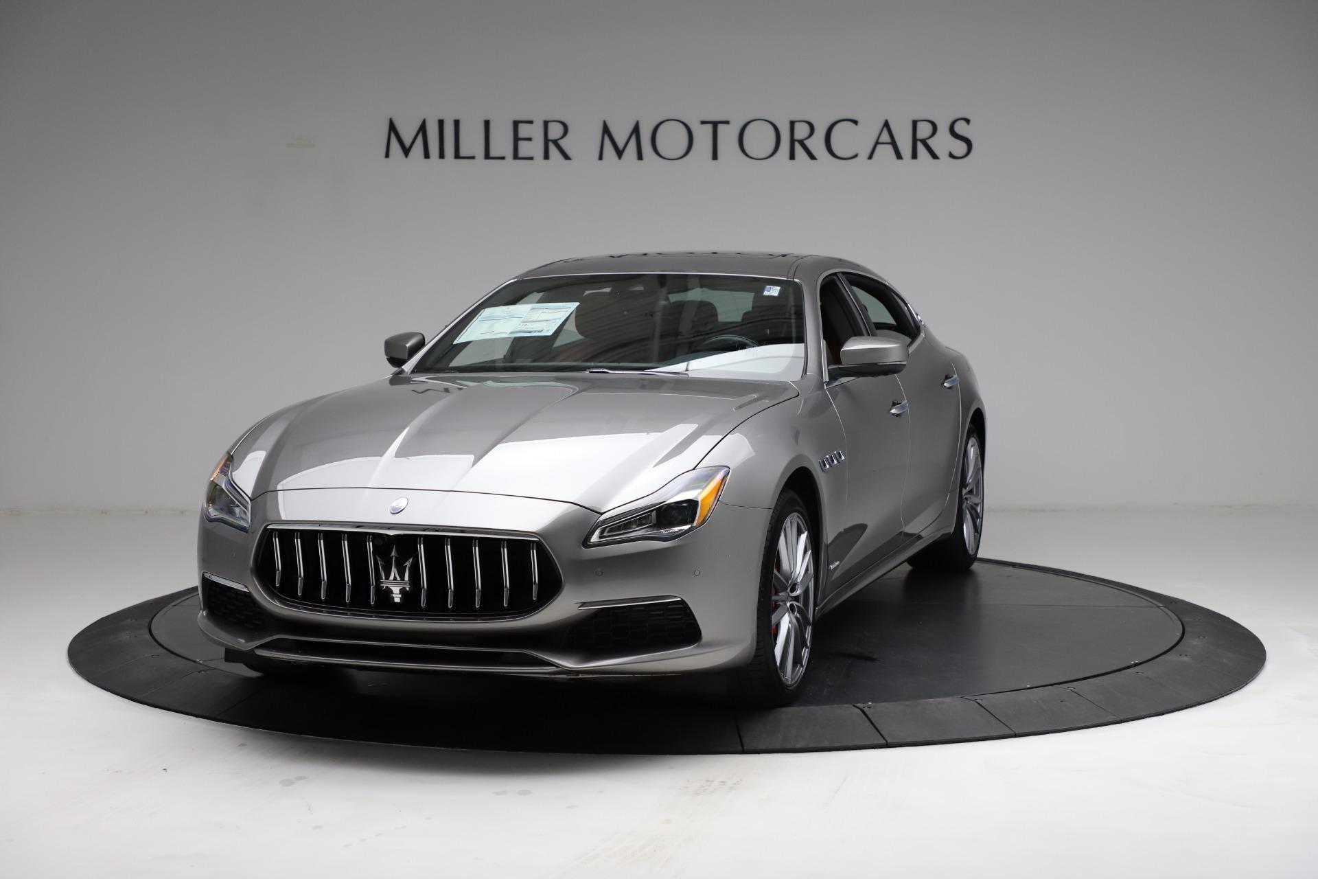 New 2021 Maserati Quattroporte S Q4 GranLusso for sale $122,435 at Bentley Greenwich in Greenwich CT 06830 1
