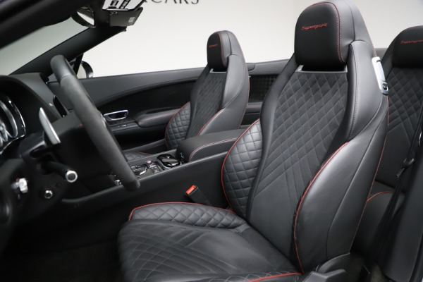 Used 2018 Bentley Continental GT Supersports for sale $209,900 at Bentley Greenwich in Greenwich CT 06830 26
