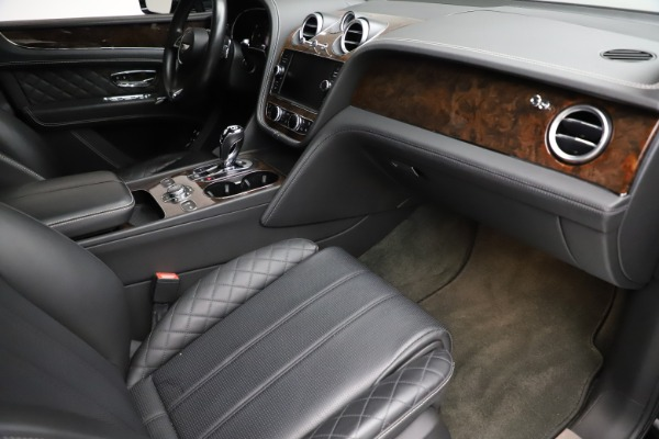 Used 2018 Bentley Bentayga W12 Signature for sale $153,900 at Bentley Greenwich in Greenwich CT 06830 25