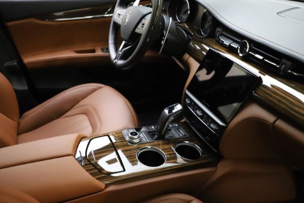 New 2021 Maserati Quattroporte S Q4 GranLusso for sale $123,549 at Bentley Greenwich in Greenwich CT 06830 21