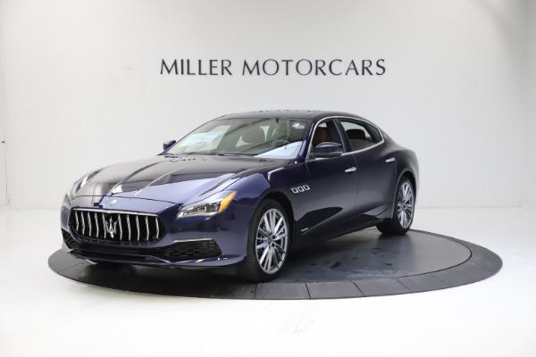 New 2021 Maserati Quattroporte S Q4 GranLusso for sale $123,549 at Bentley Greenwich in Greenwich CT 06830 1