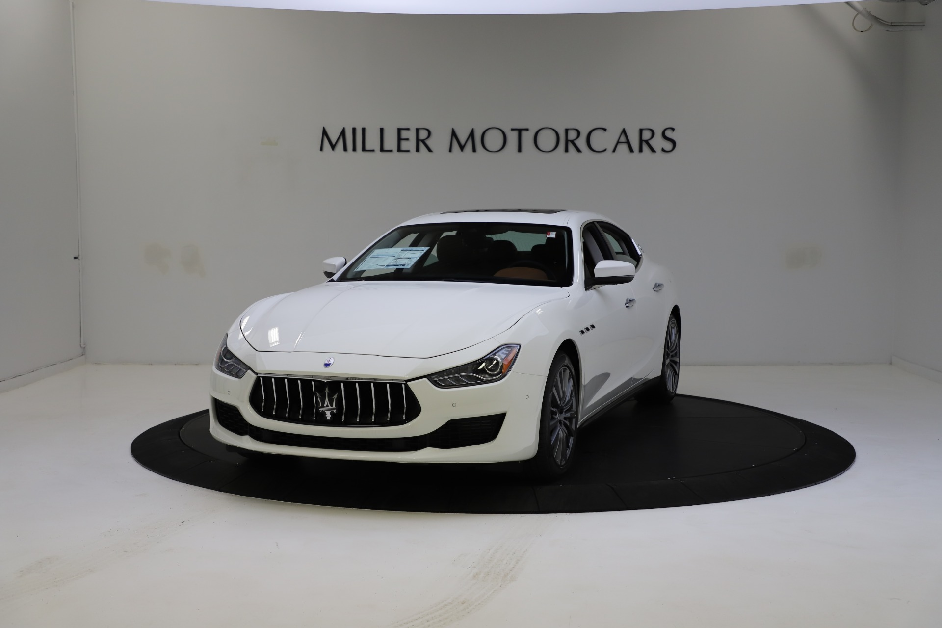 New 2021 Maserati Ghibli S Q4 for sale $85,754 at Bentley Greenwich in Greenwich CT 06830 1