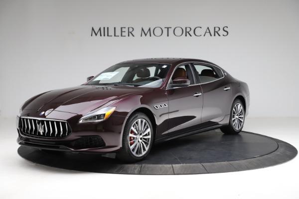 New 2021 Maserati Quattroporte S Q4 for sale $114,149 at Bentley Greenwich in Greenwich CT 06830 1