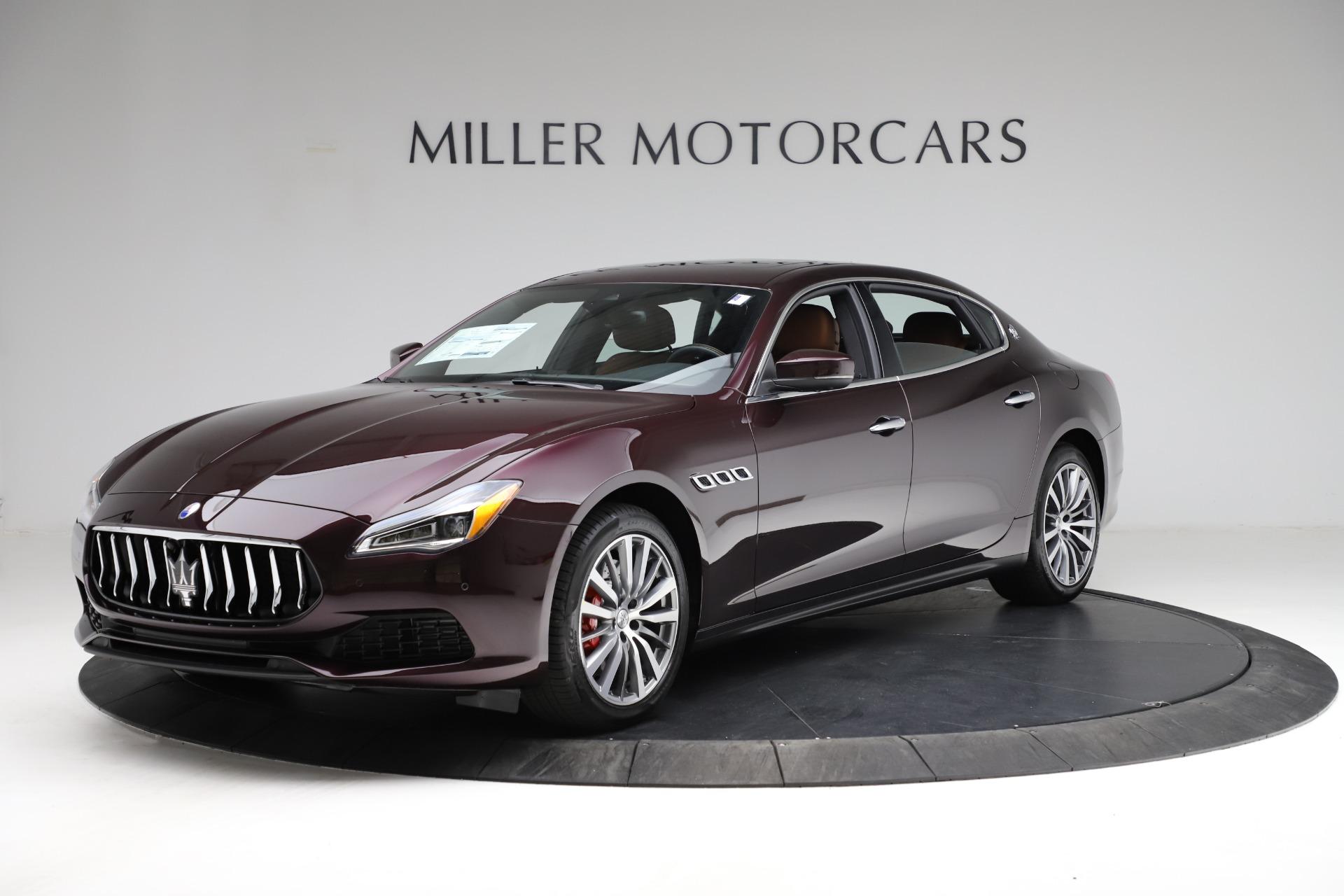 New 2021 Maserati Quattroporte S Q4 for sale Sold at Bentley Greenwich in Greenwich CT 06830 1