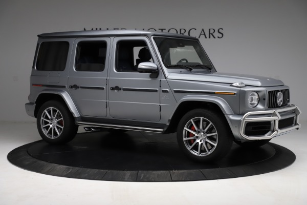 Used 2021 Mercedes-Benz G-Class AMG G 63 for sale $219,900 at Bentley Greenwich in Greenwich CT 06830 10