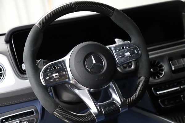 Used 2021 Mercedes-Benz G-Class AMG G 63 for sale $219,900 at Bentley Greenwich in Greenwich CT 06830 18