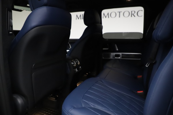 Used 2021 Mercedes-Benz G-Class AMG G 63 for sale $219,900 at Bentley Greenwich in Greenwich CT 06830 19