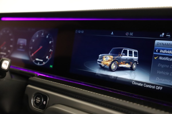Used 2021 Mercedes-Benz G-Class AMG G 63 for sale $219,900 at Bentley Greenwich in Greenwich CT 06830 24