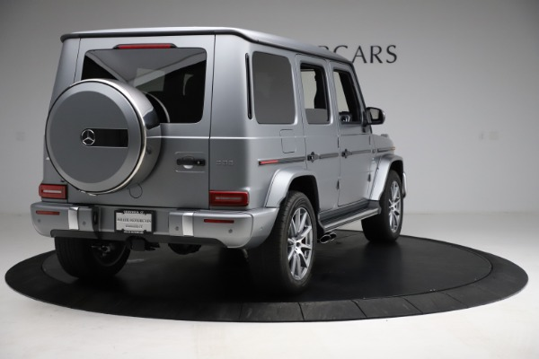 Used 2021 Mercedes-Benz G-Class AMG G 63 for sale $219,900 at Bentley Greenwich in Greenwich CT 06830 7