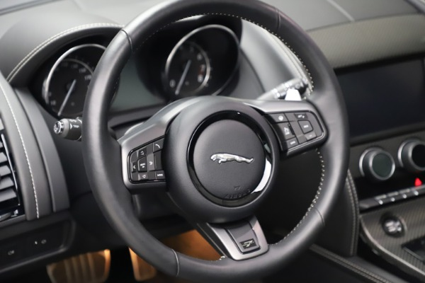 Used 2016 Jaguar F-TYPE Project 7 for sale $225,900 at Bentley Greenwich in Greenwich CT 06830 27