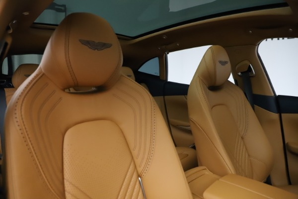 New 2021 Aston Martin DBX for sale $205,386 at Bentley Greenwich in Greenwich CT 06830 21