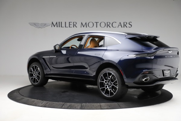 New 2021 Aston Martin DBX for sale $205,386 at Bentley Greenwich in Greenwich CT 06830 3