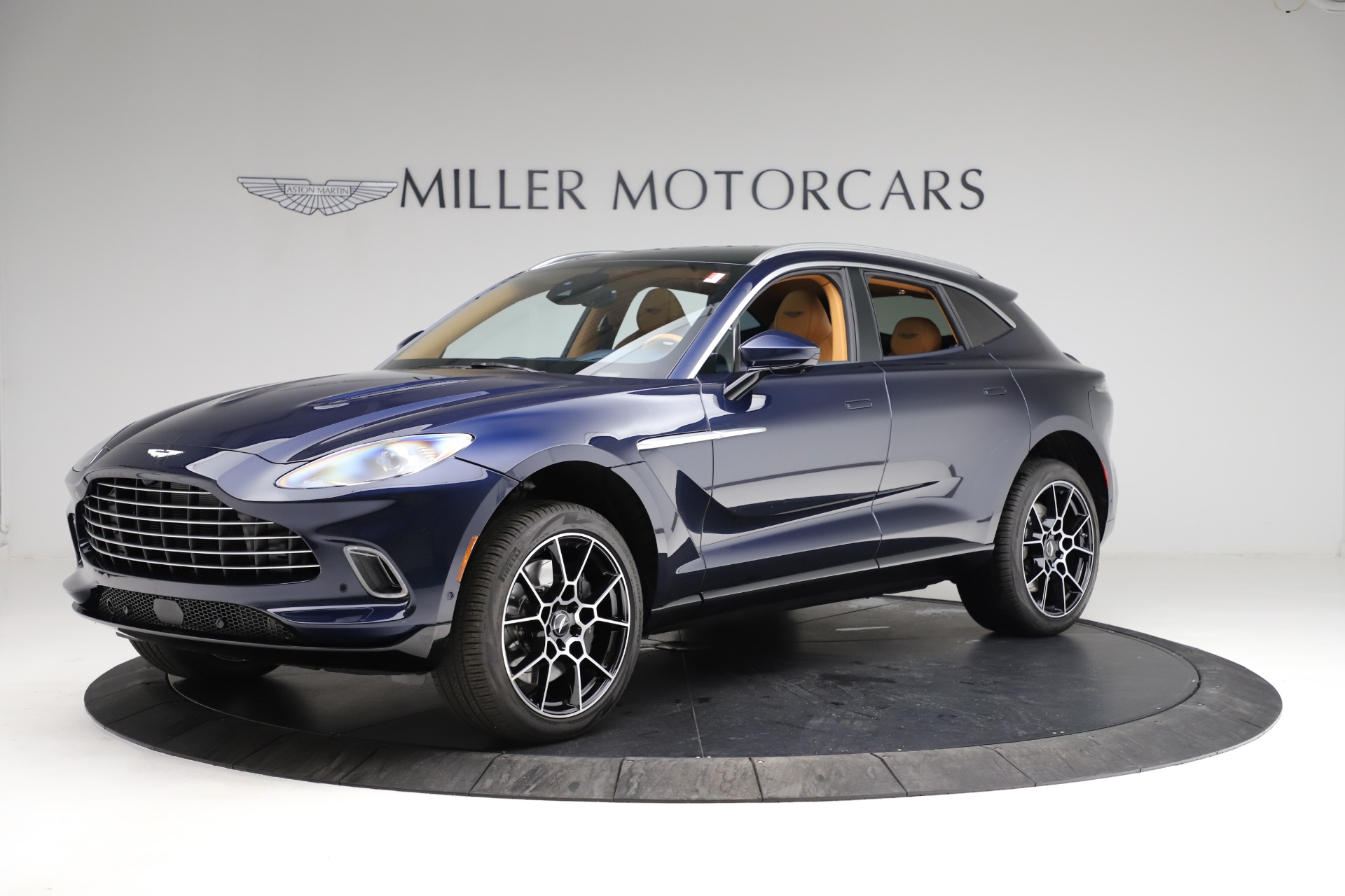 New 2021 Aston Martin DBX for sale $205,386 at Bentley Greenwich in Greenwich CT 06830 1