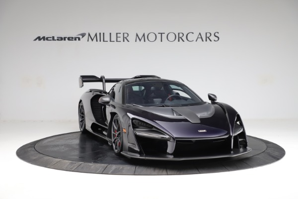 Used 2019 McLaren Senna for sale $1,195,000 at Bentley Greenwich in Greenwich CT 06830 10