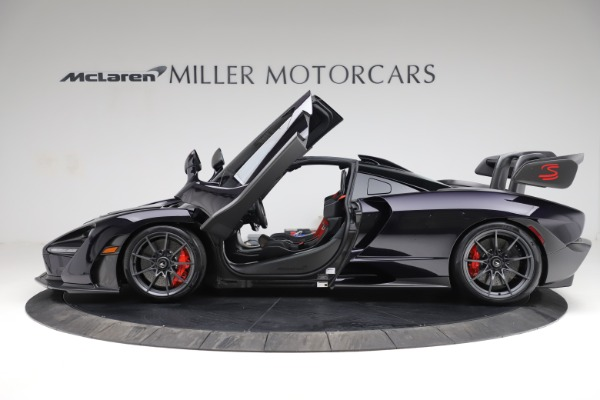 Used 2019 McLaren Senna for sale $1,195,000 at Bentley Greenwich in Greenwich CT 06830 14