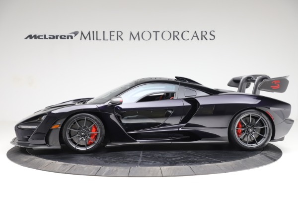 Used 2019 McLaren Senna for sale Call for price at Bentley Greenwich in Greenwich CT 06830 2