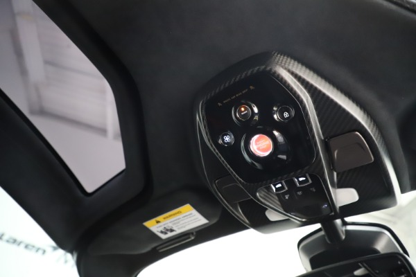 Used 2019 McLaren Senna for sale $1,195,000 at Bentley Greenwich in Greenwich CT 06830 24