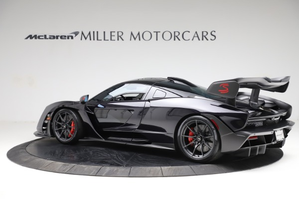 Used 2019 McLaren Senna for sale Call for price at Bentley Greenwich in Greenwich CT 06830 3