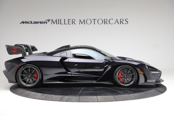 Used 2019 McLaren Senna for sale Call for price at Bentley Greenwich in Greenwich CT 06830 8