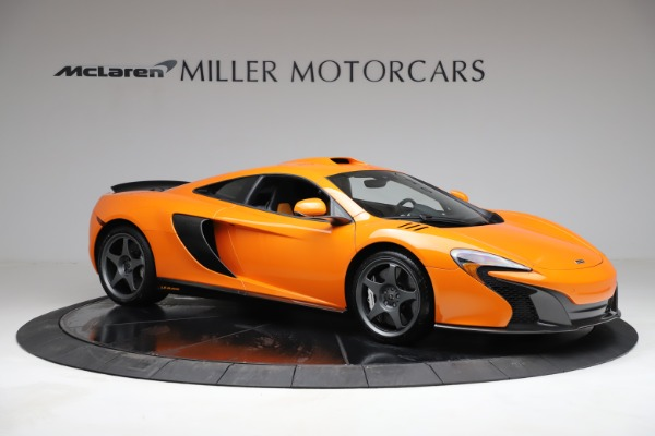 Used 2015 McLaren 650S LeMans for sale $269,990 at Bentley Greenwich in Greenwich CT 06830 9