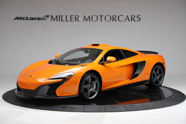 Used 2015 McLaren 650S LeMans for sale $269,990 at Bentley Greenwich in Greenwich CT 06830 1