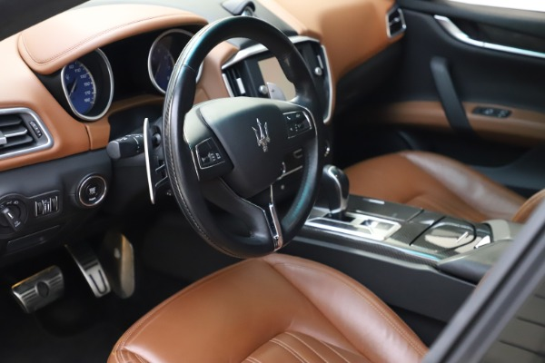 Used 2014 Maserati Ghibli S Q4 for sale $29,900 at Bentley Greenwich in Greenwich CT 06830 14