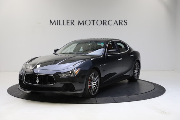 Used 2014 Maserati Ghibli S Q4 for sale $29,900 at Bentley Greenwich in Greenwich CT 06830 2