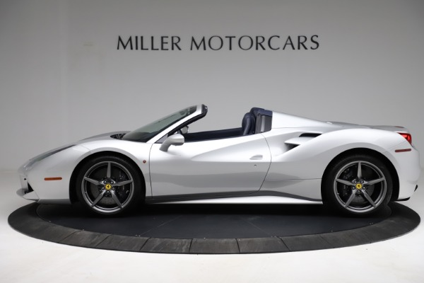 Used 2017 Ferrari 488 Spider for sale $284,900 at Bentley Greenwich in Greenwich CT 06830 3