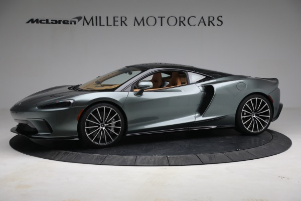 New 2021 McLaren GT LUXE for sale $214,005 at Bentley Greenwich in Greenwich CT 06830 2