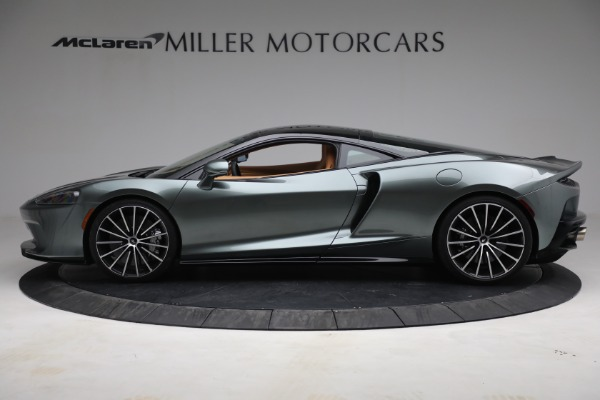 New 2021 McLaren GT LUXE for sale $214,005 at Bentley Greenwich in Greenwich CT 06830 3