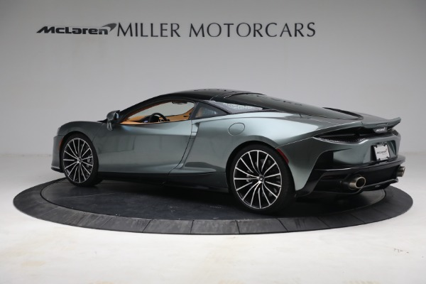 New 2021 McLaren GT LUXE for sale $214,005 at Bentley Greenwich in Greenwich CT 06830 4