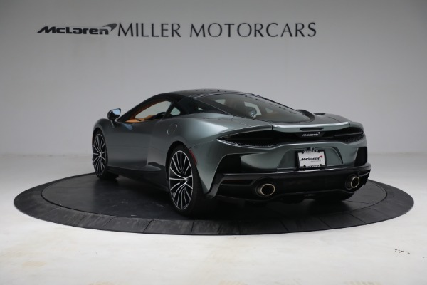 New 2021 McLaren GT LUXE for sale $214,005 at Bentley Greenwich in Greenwich CT 06830 5