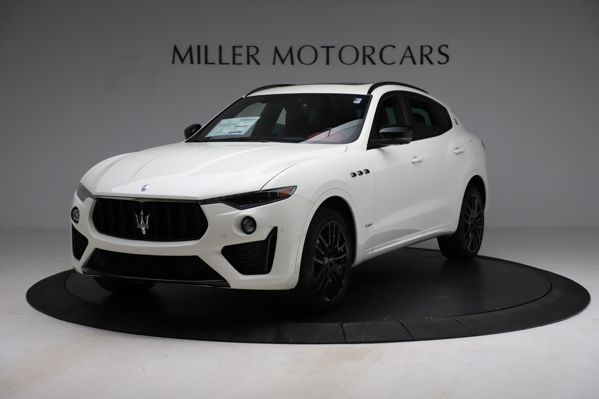 New 2021 Maserati Levante Q4 GranSport for sale $96,235 at Bentley Greenwich in Greenwich CT 06830 1