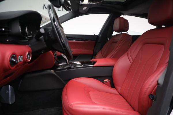 New 2021 Maserati Quattroporte S Q4 for sale $119,589 at Bentley Greenwich in Greenwich CT 06830 19