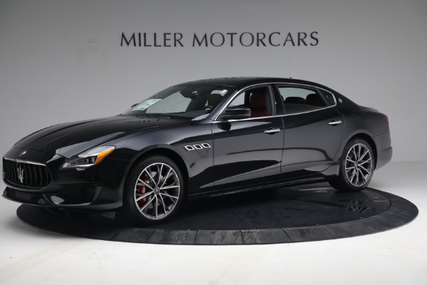 New 2021 Maserati Quattroporte S Q4 for sale $119,589 at Bentley Greenwich in Greenwich CT 06830 2