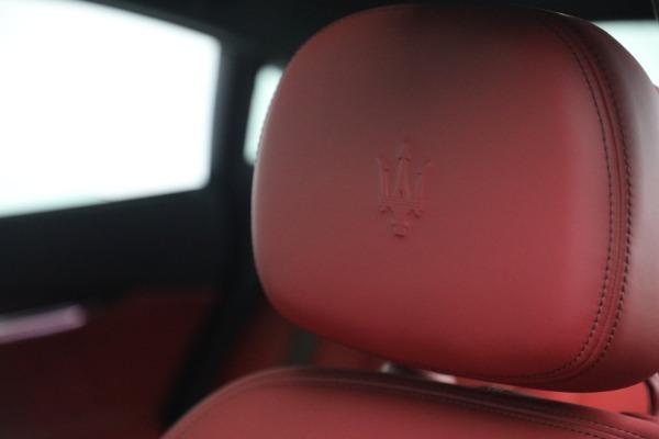 New 2021 Maserati Quattroporte S Q4 for sale $119,589 at Bentley Greenwich in Greenwich CT 06830 21