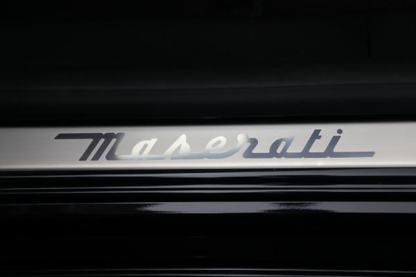 New 2021 Maserati Quattroporte S Q4 for sale $119,589 at Bentley Greenwich in Greenwich CT 06830 22