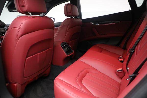 New 2021 Maserati Quattroporte S Q4 for sale $119,589 at Bentley Greenwich in Greenwich CT 06830 27