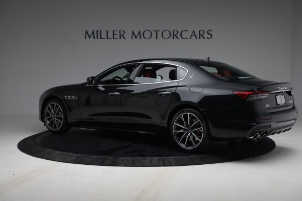 New 2021 Maserati Quattroporte S Q4 for sale $119,589 at Bentley Greenwich in Greenwich CT 06830 4