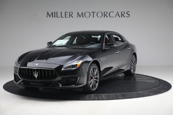 New 2021 Maserati Quattroporte S Q4 for sale $119,589 at Bentley Greenwich in Greenwich CT 06830 1