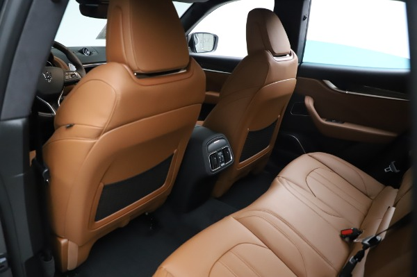 New 2021 Maserati Levante Q4 GranSport for sale $91,385 at Bentley Greenwich in Greenwich CT 06830 19
