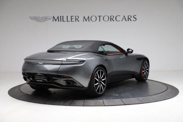 Used 2019 Aston Martin DB11 Volante for sale $211,990 at Bentley Greenwich in Greenwich CT 06830 25