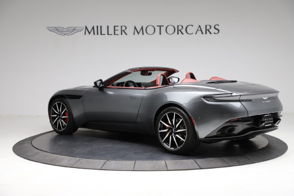 Used 2019 Aston Martin DB11 Volante for sale $211,990 at Bentley Greenwich in Greenwich CT 06830 3