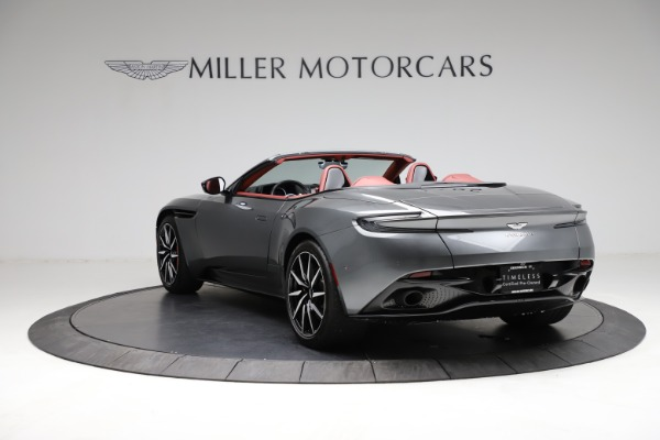Used 2019 Aston Martin DB11 Volante for sale $211,990 at Bentley Greenwich in Greenwich CT 06830 4